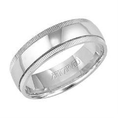 Platinum 6.5mm Wedding Band for Him 11-WV733P65