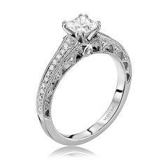 M1821R510-MM 19K White Gold Engagement Ring from Scott Kay