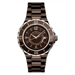High Tech Ceramic 5 ATM Jacques Michel Diver's Watch Style# JM-12101