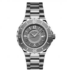 Titanium and Ceramic 5 ATM Jacques Michel Diver's Watch Style# JM-12103