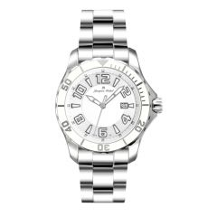 Stainless Steel and Ceramic Luminous Dial and Hands 20 ATM Jacques Michel Divers Watch Style# JM-12163