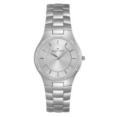 3 ATM Watch by Jacques Michel with Genuine Diamond Style# JM-12218