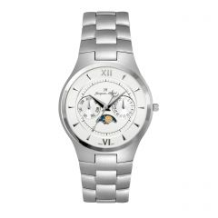 Stainless Steel  5J Multi-Function 3 ATM Watch by Jacques Michel Style# JM-12226