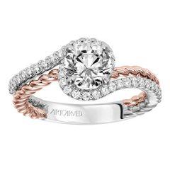 Nina Gold and Diamond Engagement Ring 31-V573-E
