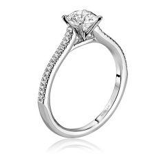 B0655RD10-MM 19K White Gold Engagement Ring from Scott Kay