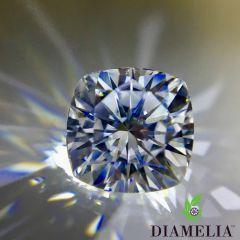 DIAMELIA® Ideal Cut Cushion Cut Blazing Arrows™
