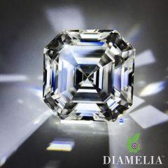 DIAMELIA Classic Ideal Asscher Cut