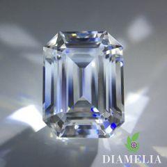 DIAMELIA Ideal Emerald / Krupps Cut