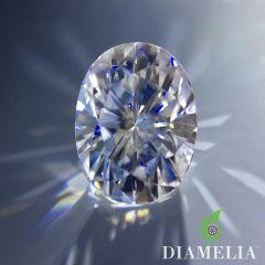 DIAMELIA Oval Ideal Cut Blazing Arrows