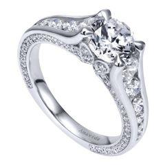 ER11764R4W83JJ 18k and Diamond Ring