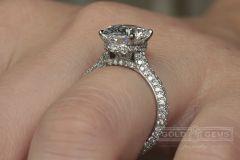 """""""Nest of Diamonds"""" - Custom Engagement Rings"""